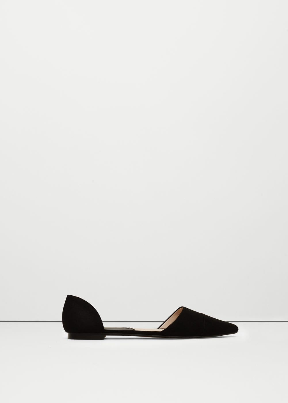 Mango Pointed Toe Flats $29.99