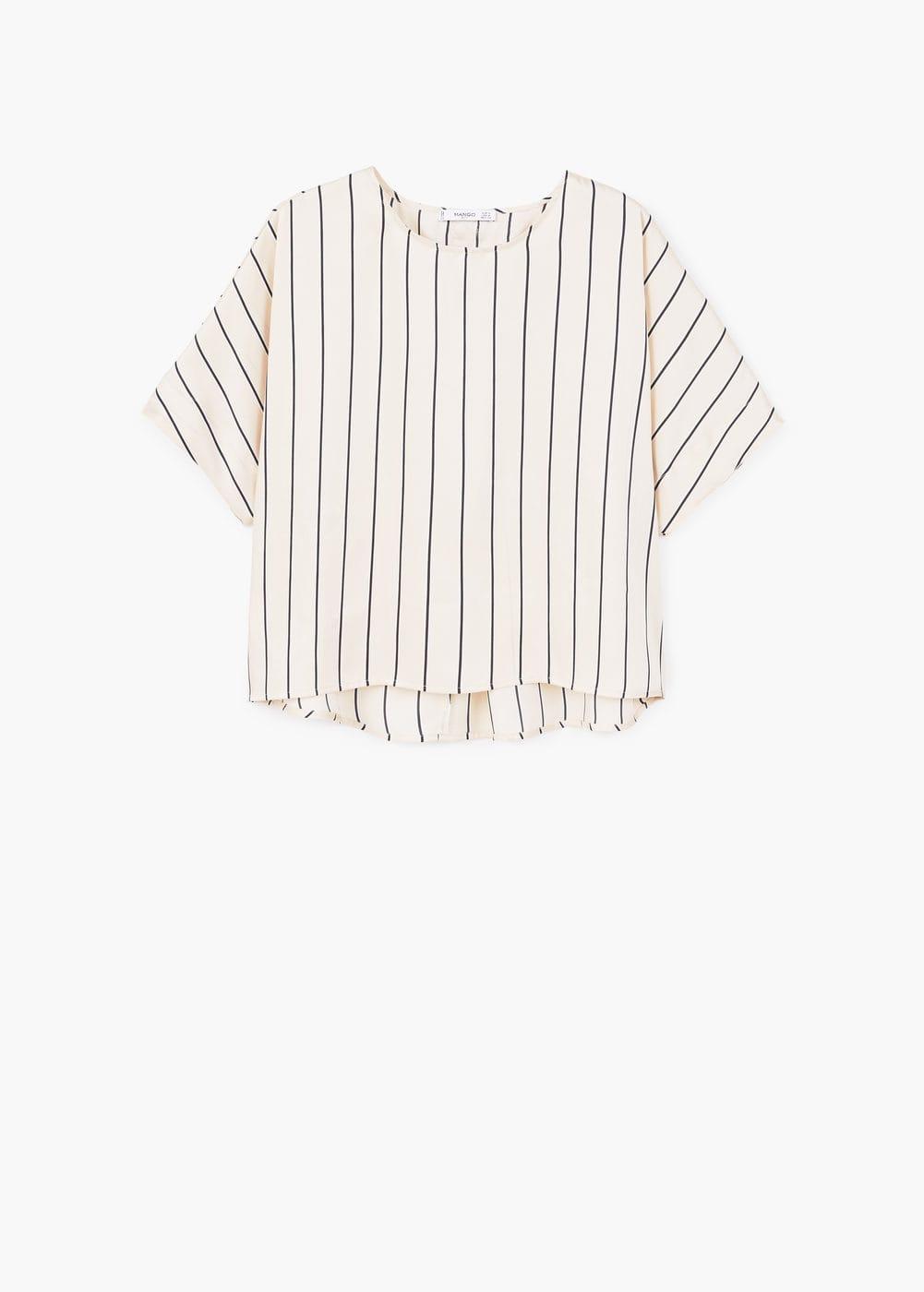 MAngo Striped Blouse $49.99