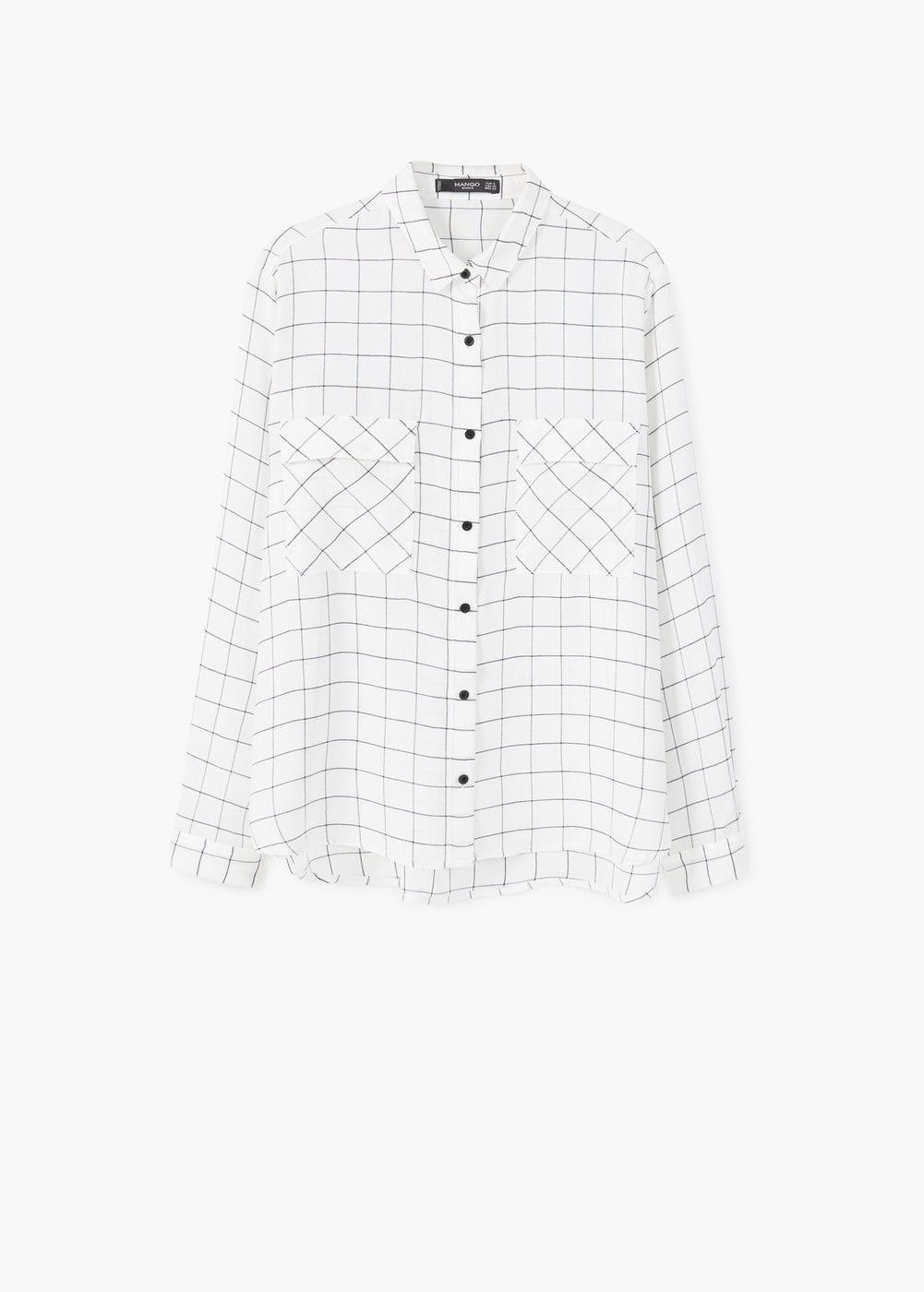 MAngo Check Shirt $45.99