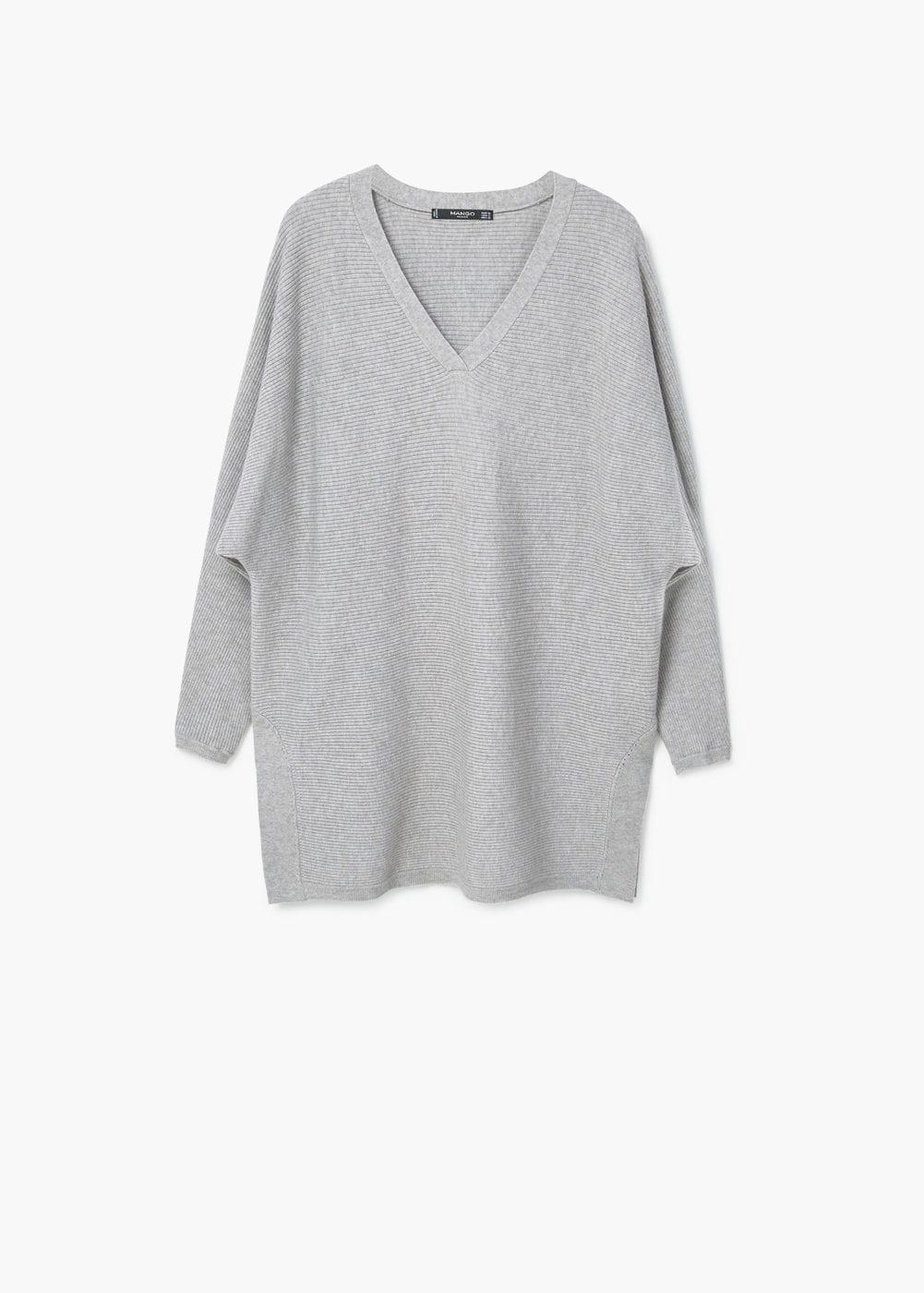 Mango Ribbed Sweater $49.99