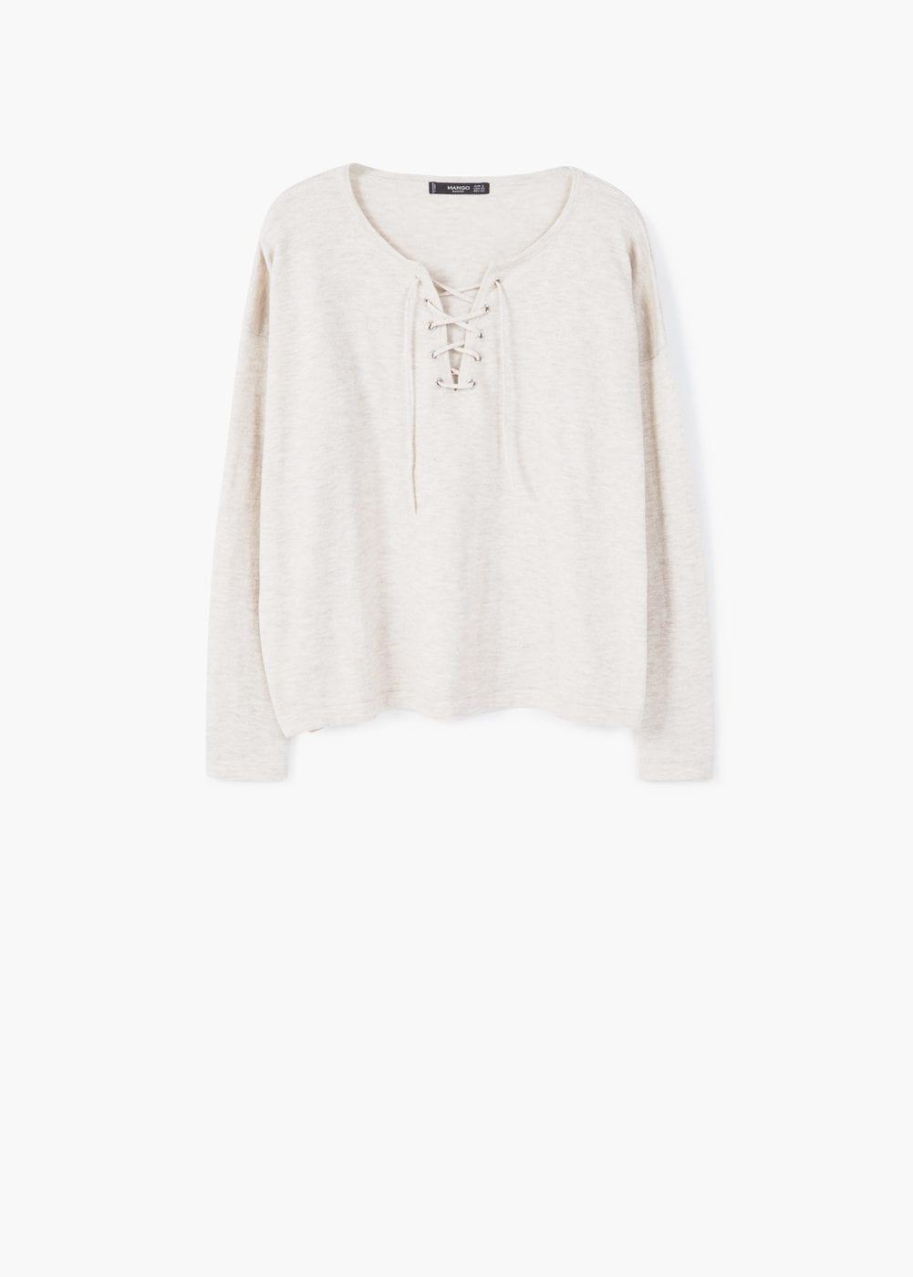 Mango Cord Sweater $35.99