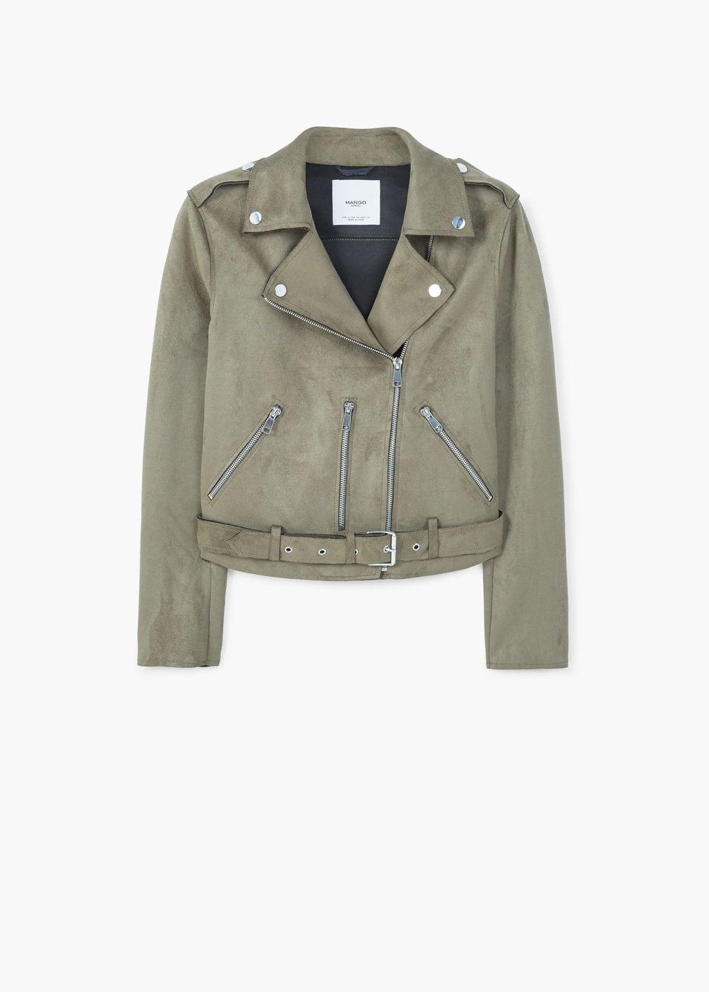 MAngo crop Biker Jacket