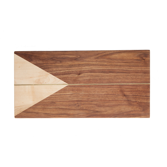 Walnut & Maple Rectangle Cheeseboard $229.95