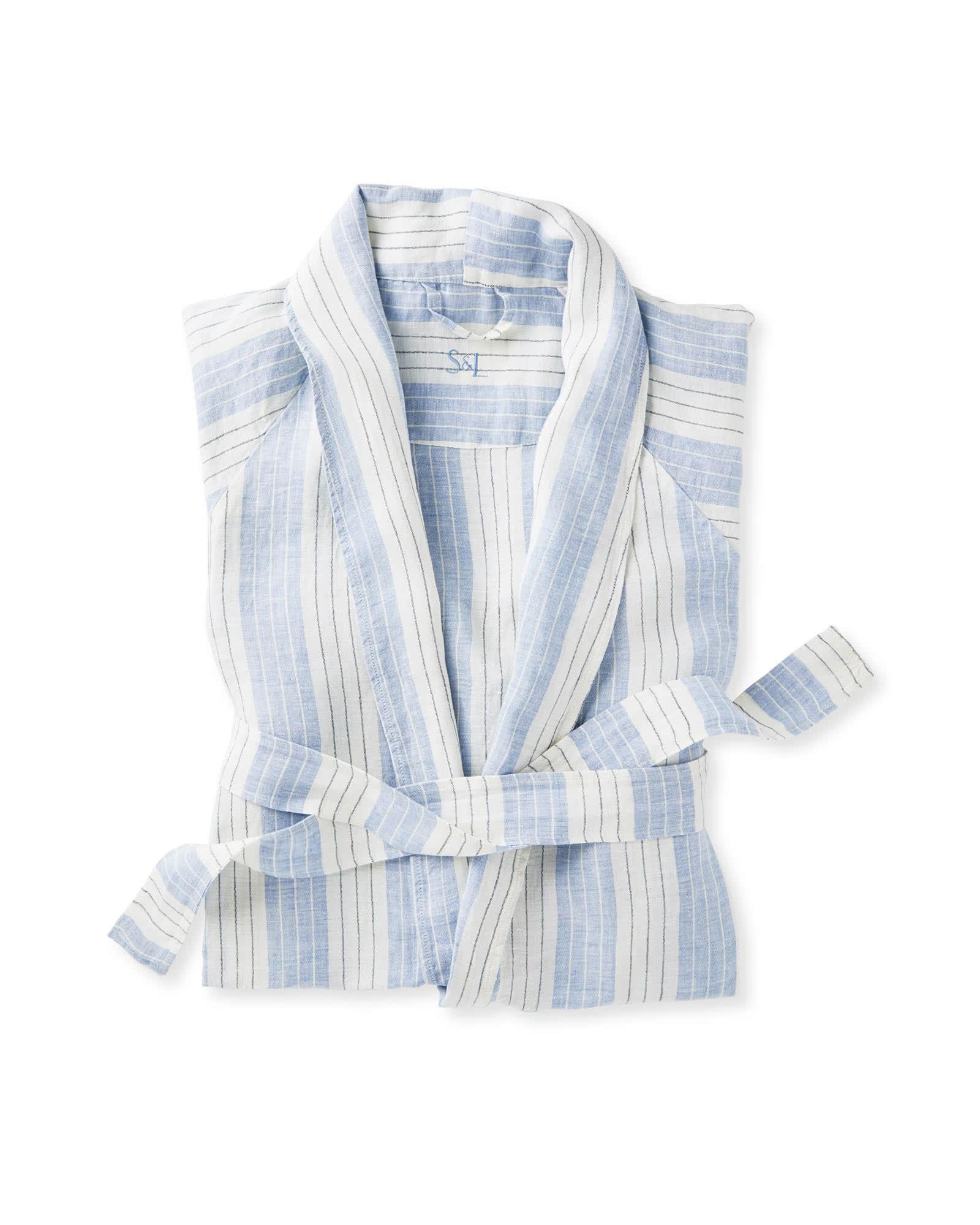 Porto Linen Robe $128.00
