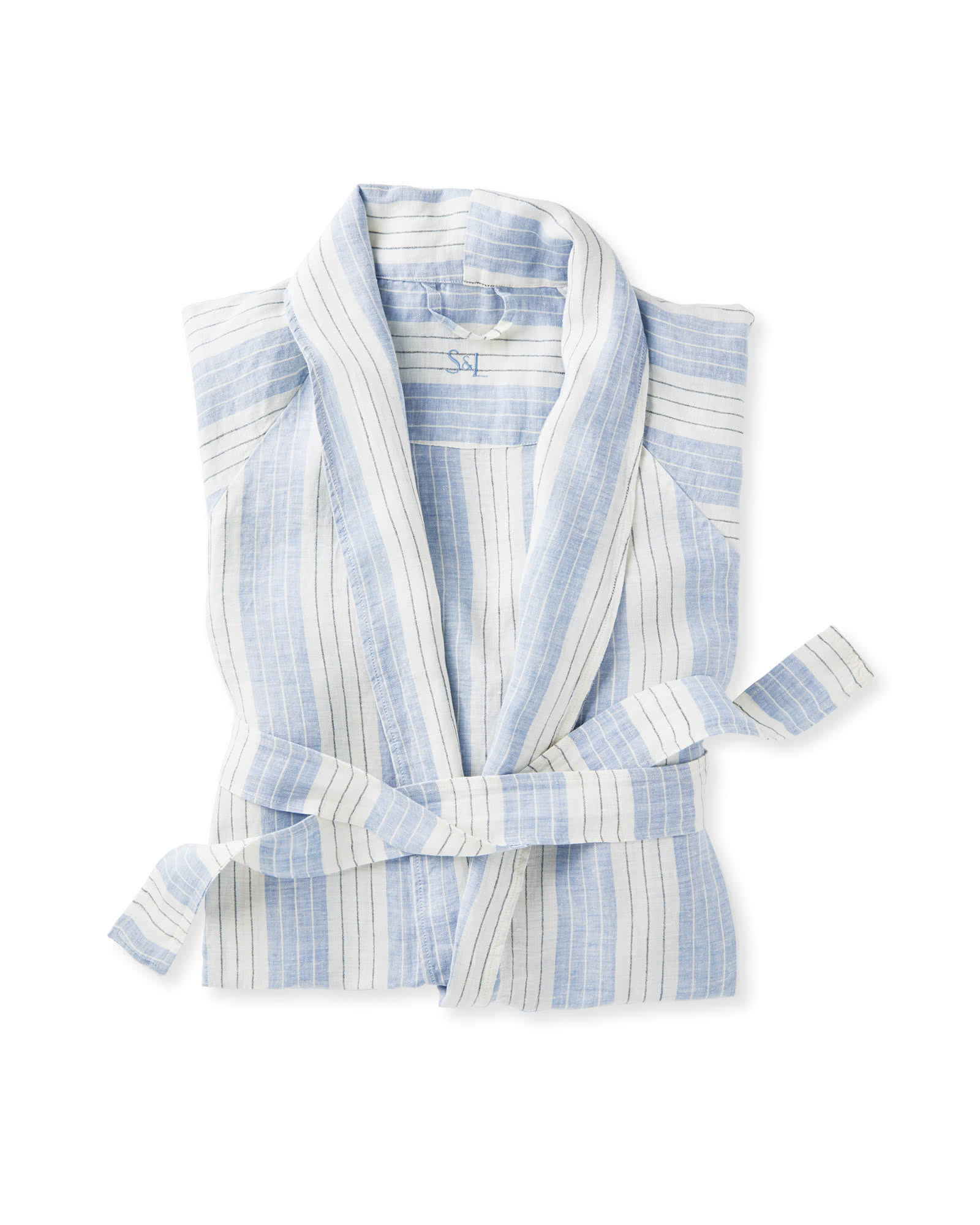 Porto Linen Robe $128