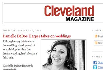 Cleveland Magazine Blog January 2013