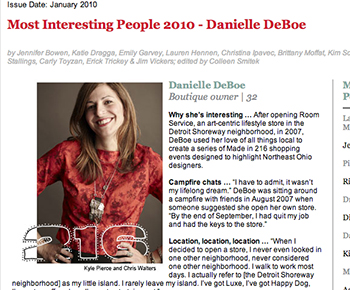 Cleveland Magazines 30 Most Interesting People 2010