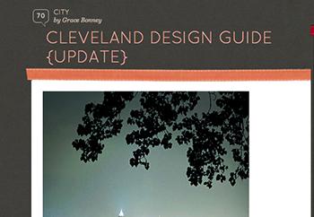 Design*Sponge Cleveland City Guide – 2011, 2008