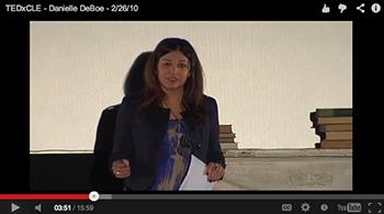 Presenter at TEDxCLE
