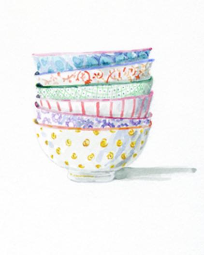 Artfully Walls: Bowls, by Miri Frenkel Eshet
