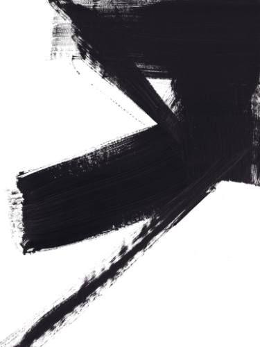 "Left: Jaime Derringer; Painting, ""AC Study 3""  Right: Alessandro La Civita; New Media, #20"