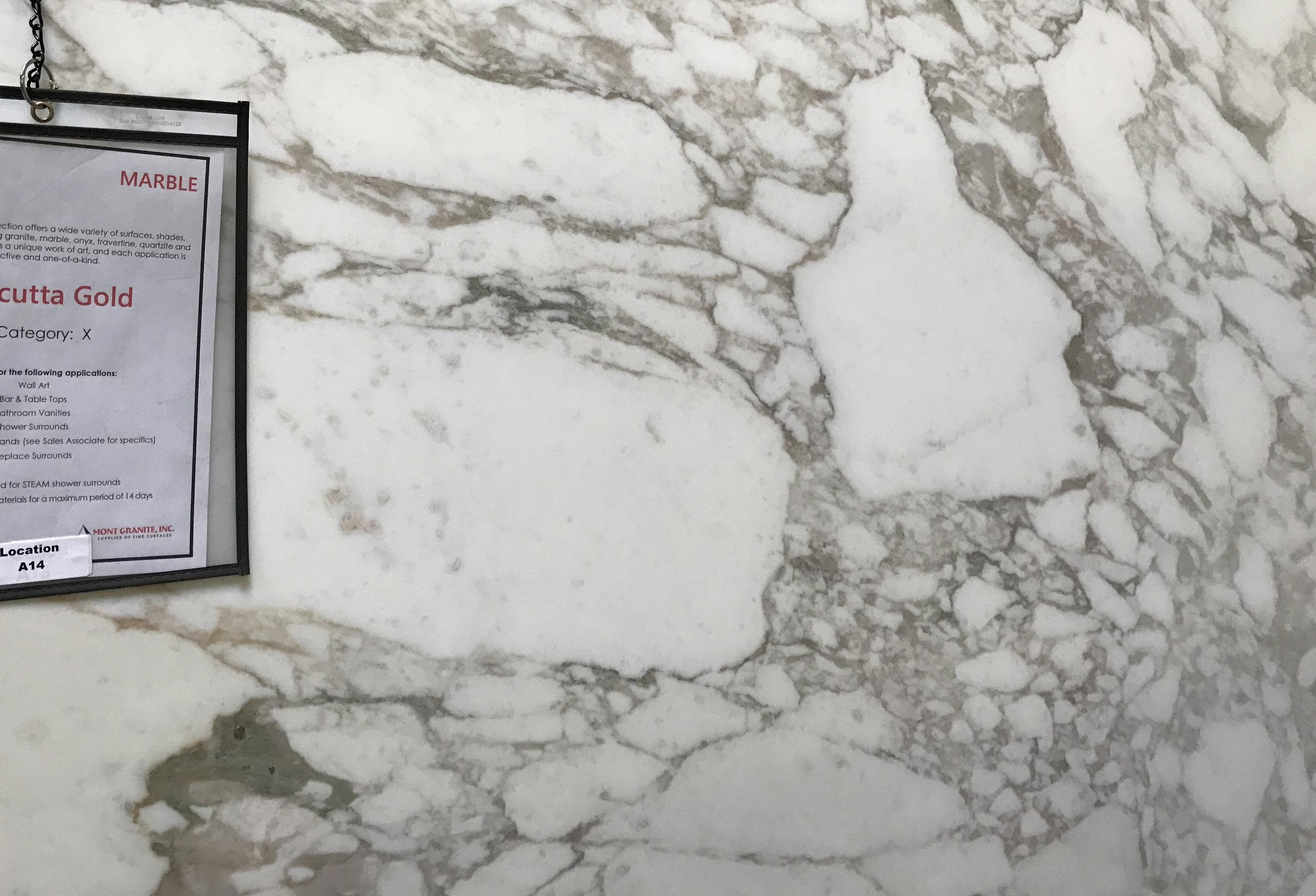 Calacutta Gold marble