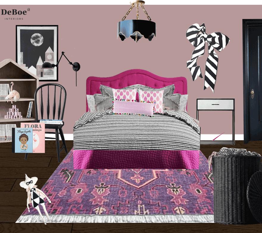 deboe-studio-interiors-little-girl-room-black-white-magenta-lavender.png