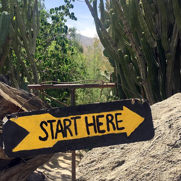 Moorton Botanical Garden, Palm Springs
