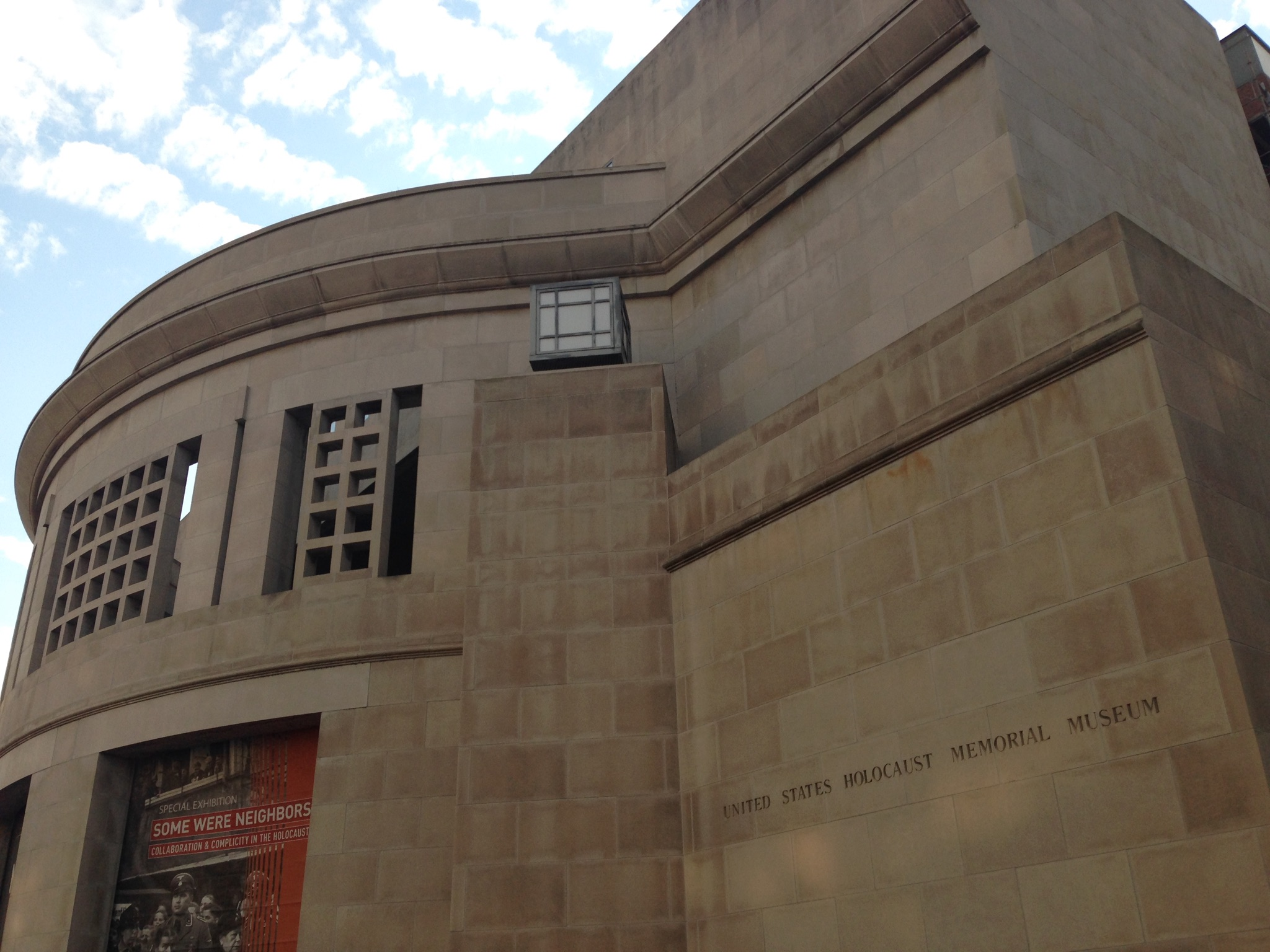 The United States Holocaust Memorial Museum in Washington, DC, October 27, 2016