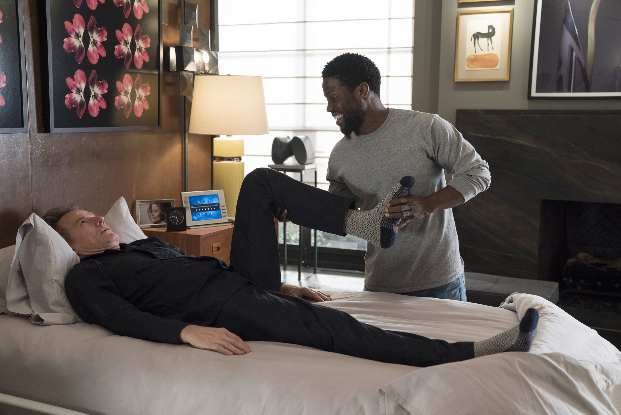 Bryan Cranston and Kevin Hart star in THE UPSIDEDavid Lee/Photographer