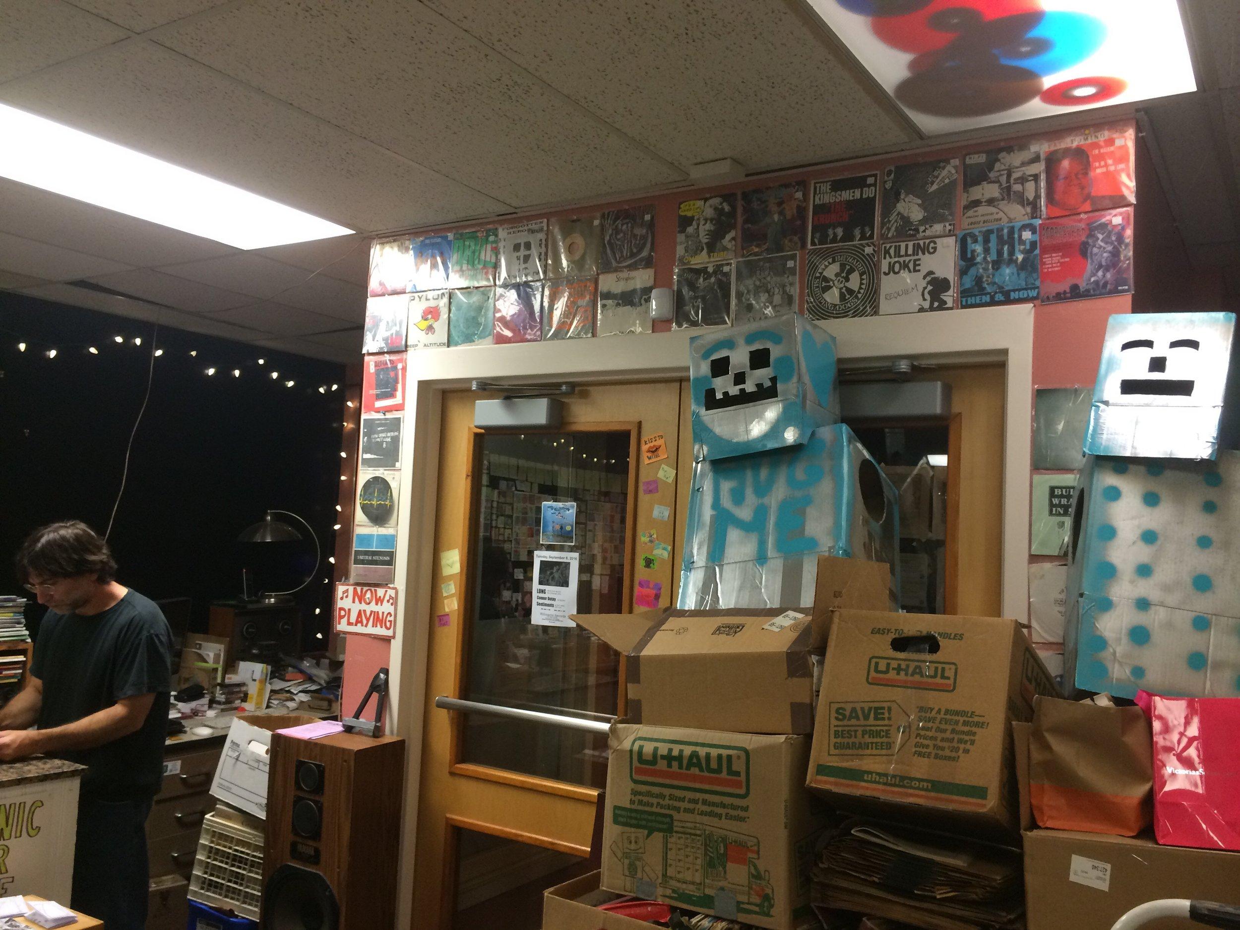 Joe and his record store