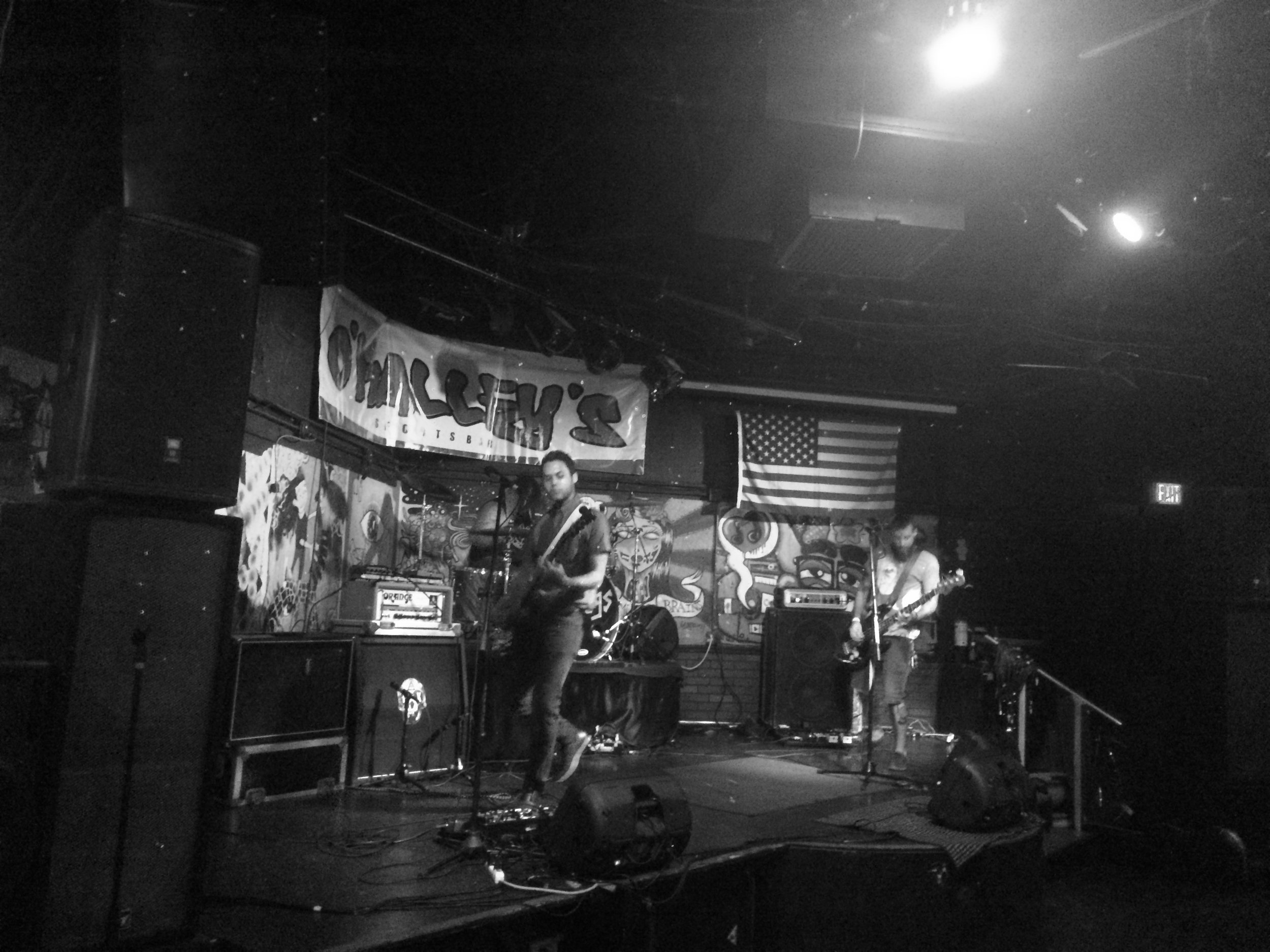 The Prescription rocking hard at O'Malley's in Margate
