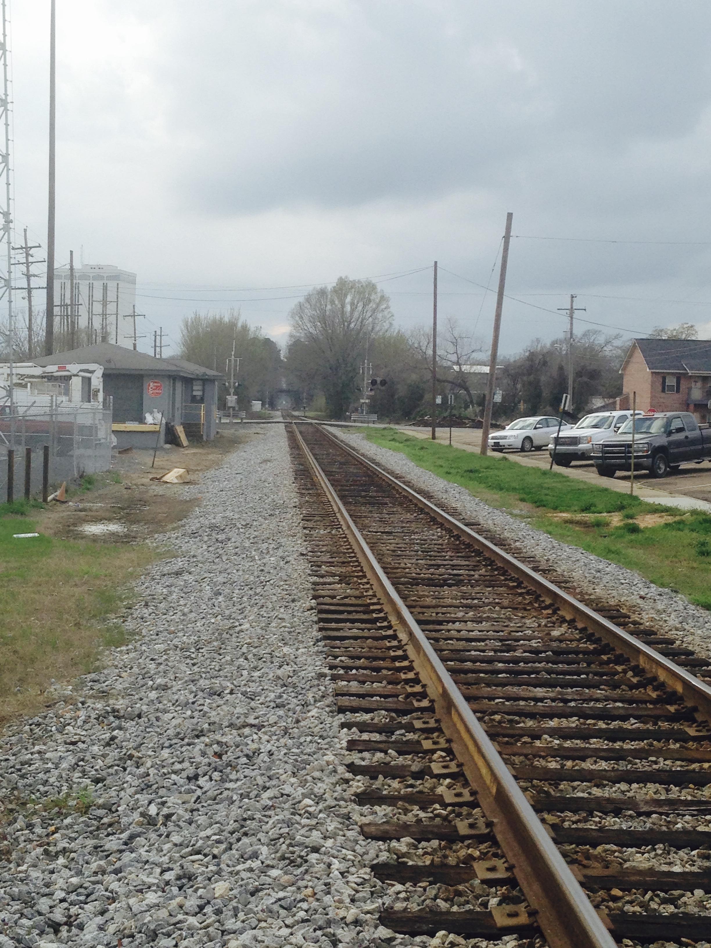 Obligatory small town railroad shot.