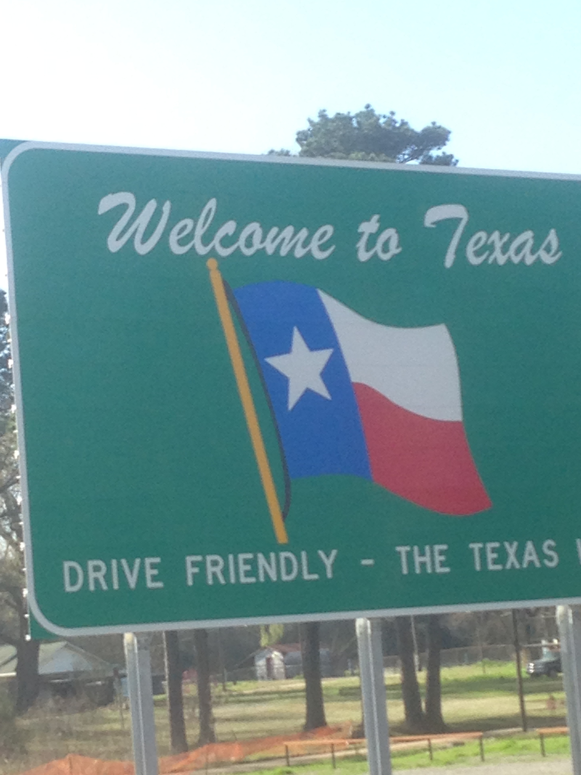 Drive Friendly. No angry drivers. This is Texas. Get it together.