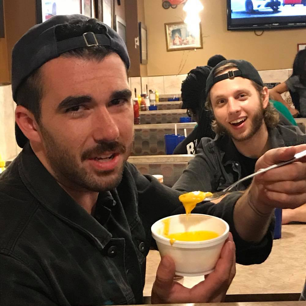 That time that Chris from The Messenger Birds enjoyed melted cheese more than anyone ever has.