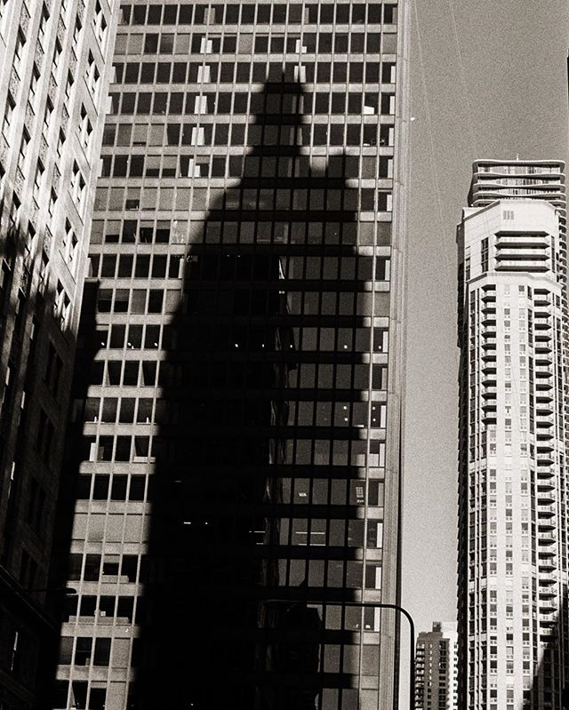 The #towers of #might and #power torontophotographer #yashica #photographersofinstagram #35mm #film #photography #landscape #flickr #dailyinspiration #streetphotography #followback #urbandecay #toronto #canada #rangefinder