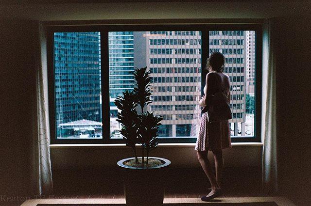 #Hotel not paid for, #views still #embraced. #travelphotography #yashica #rangefinder #torontophotographer #dailyinspiratioN #photographersofinstagram #35mm #film #photography #landscape #flickr