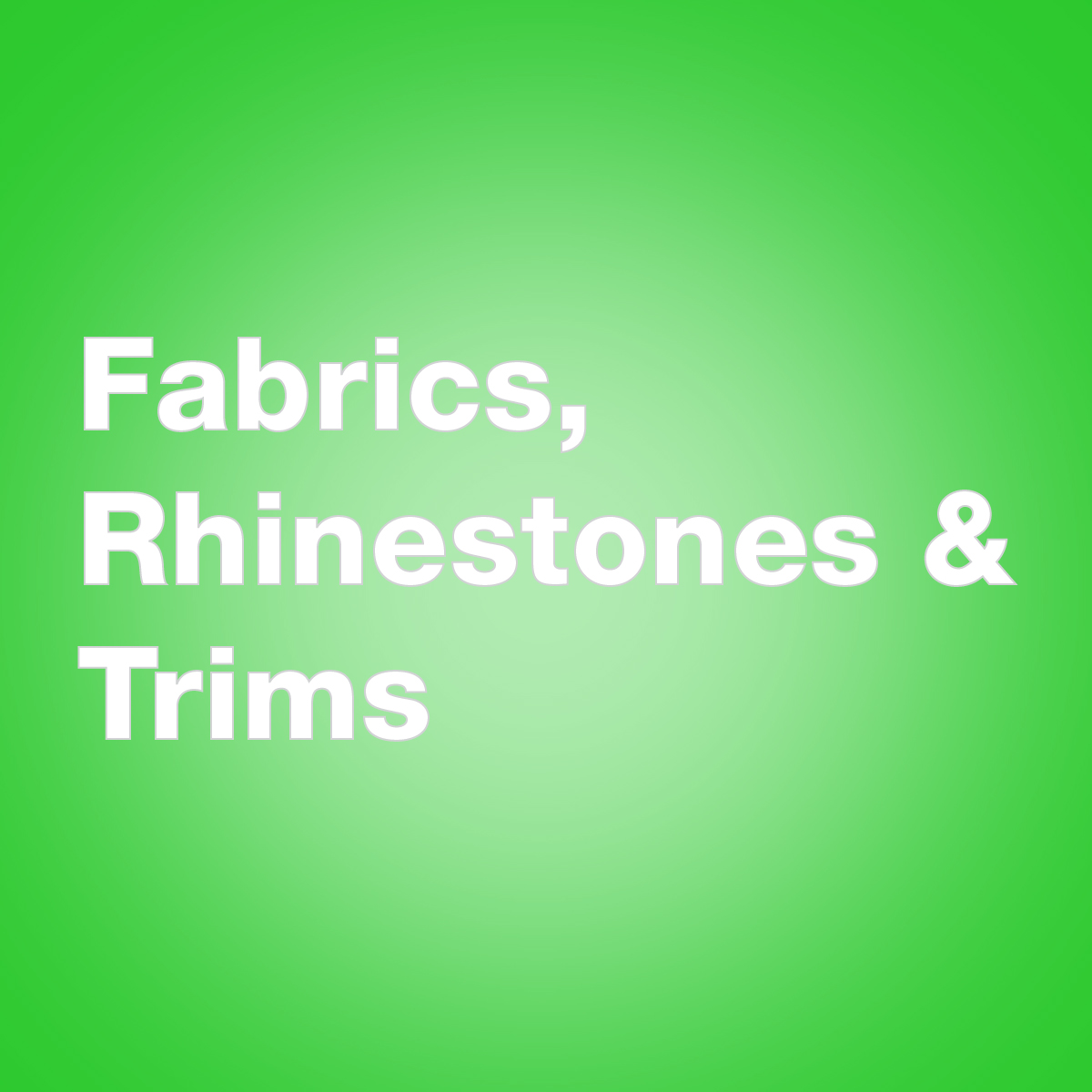 fabrics rhinestones and trims