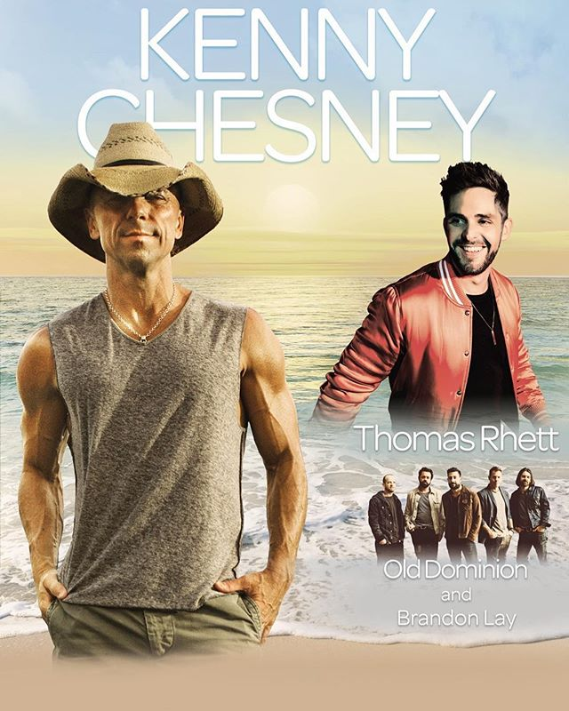 DM me if you'll be at the @kennychesney @thomasrhettakins @olddominionmusic show in Denver on Saturday! Who's ready for the freakin weekend!!!! #kennychesney #denver  #summer #concert @oldgringoboots