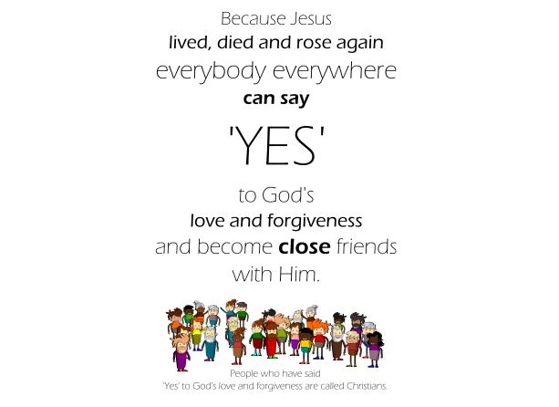 God's love and forgiveness