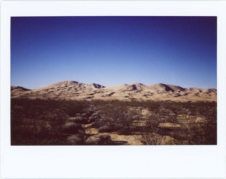 No. #20170128_04 Kelsoe Dunes, Mojave Desert.