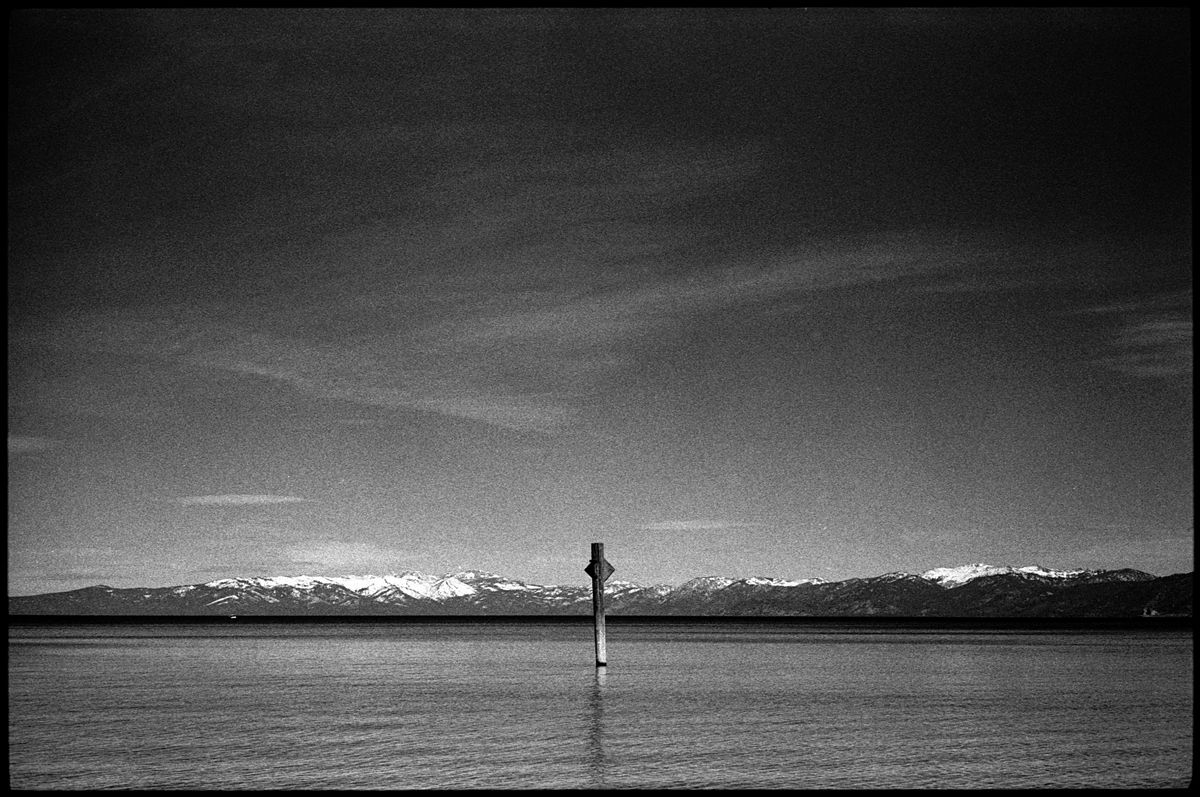 No. #0433_06A - South Lake Tahoe, California. February of 2016. Leica M3, Zeiss 50mm f/1.5 lens, Ilford HP5 400 film.