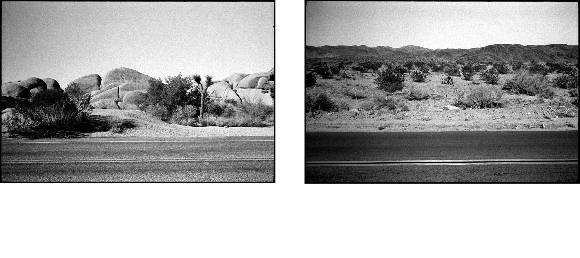 "#0249_22A / 0249_24A - Joshua Tree National Park, California / 2013   Excerpts from the book  ""Fragments""    Signed Copies   On Demand @Blurb   Online Shop"
