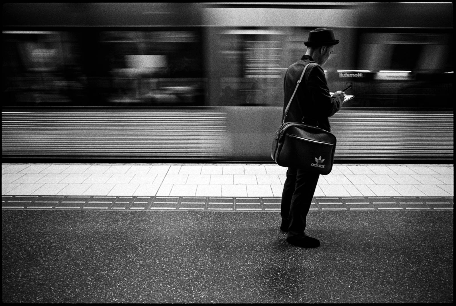 #0287_14 -  Hornstull Tunnelbana. Stockholm, 2014.