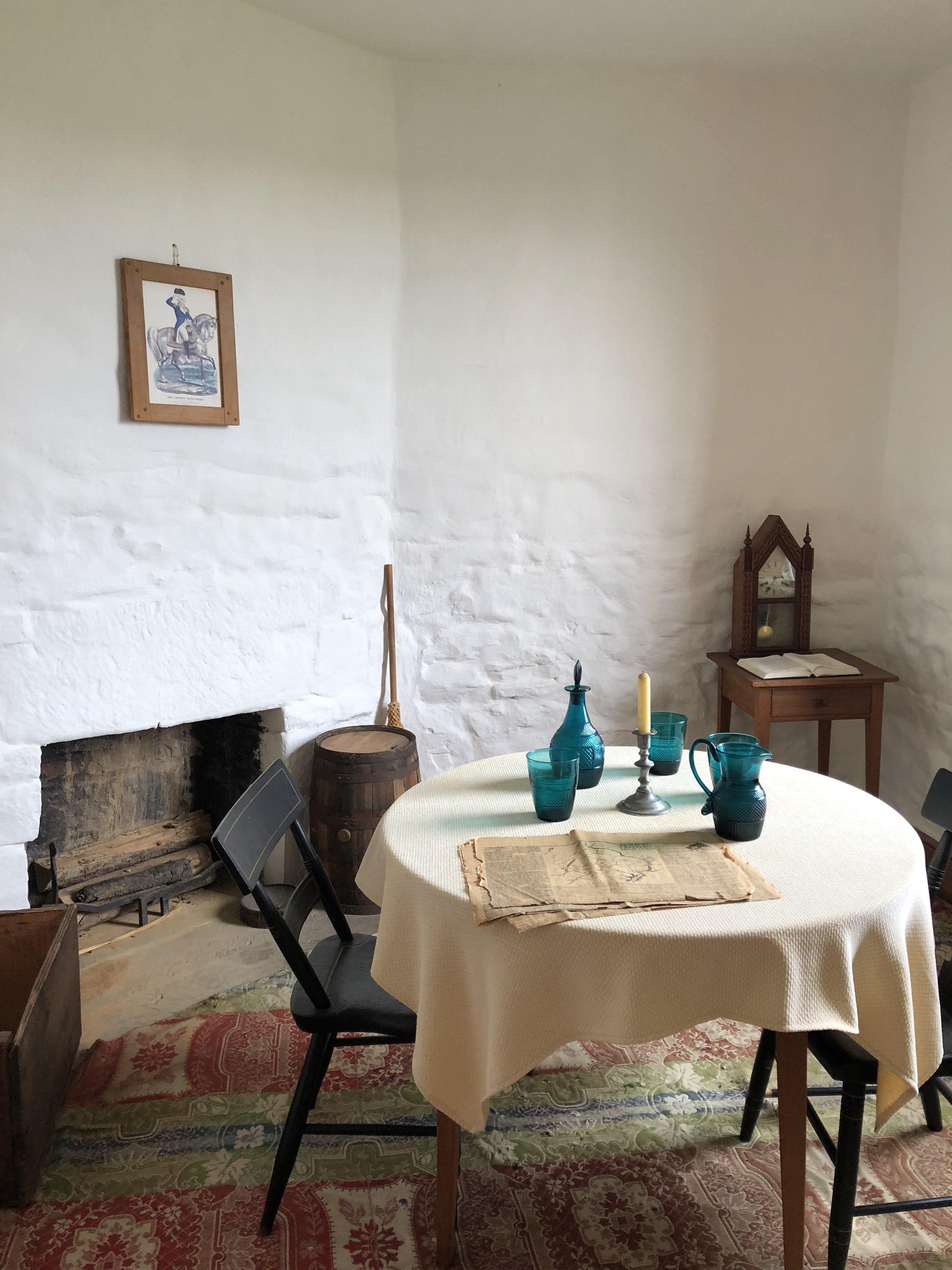 Inside the Stone House