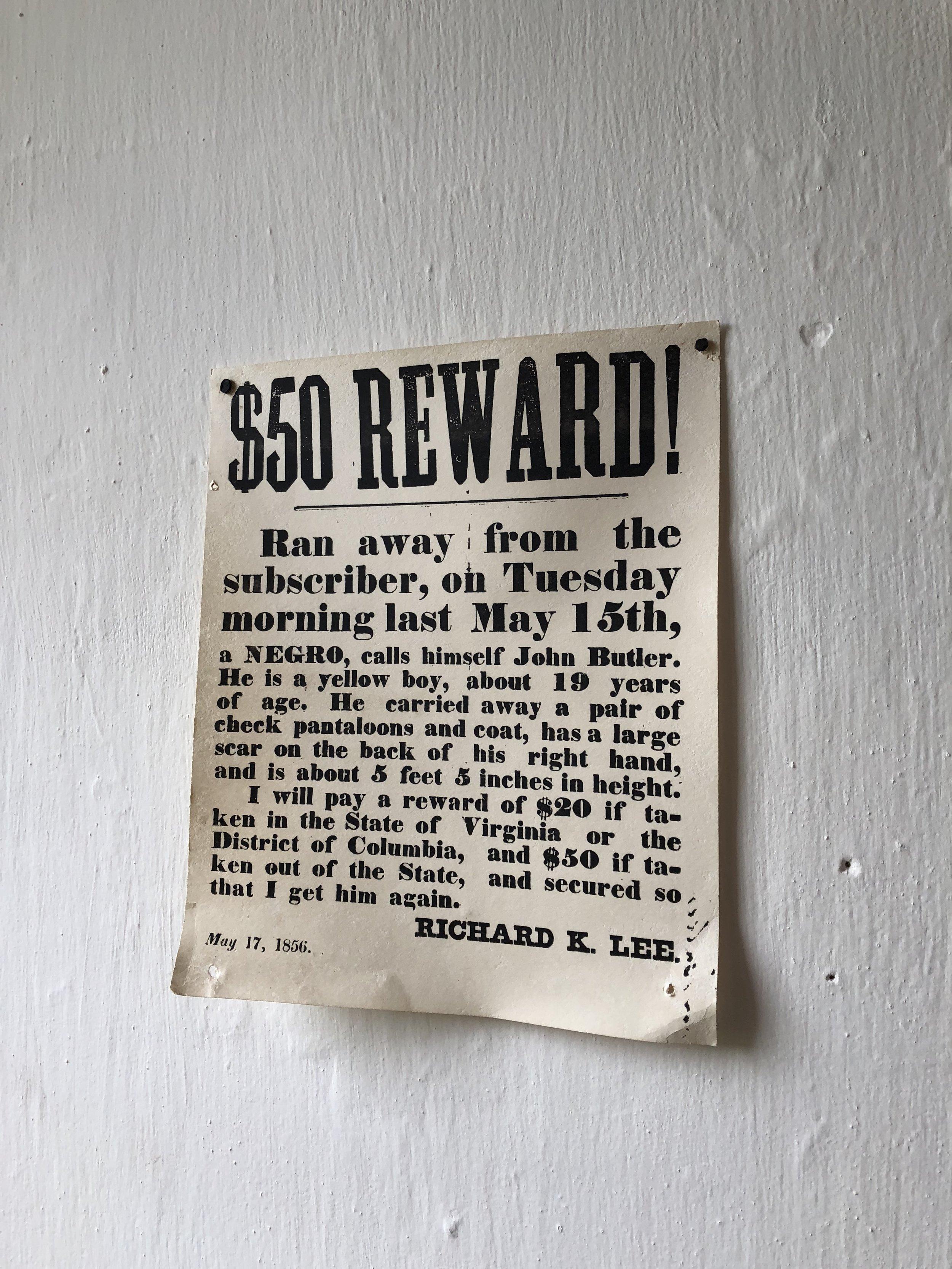 A Notice...