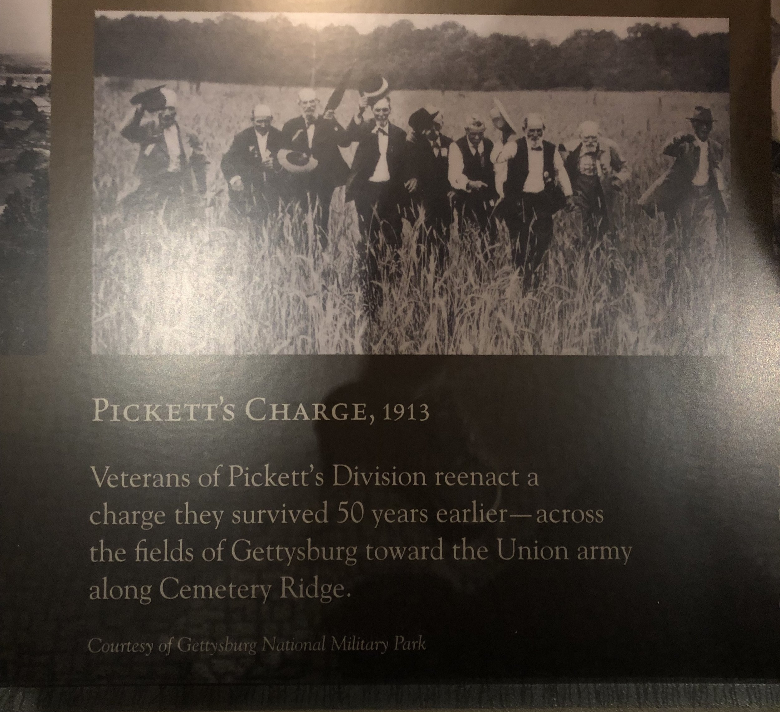 Pickett's Charge, Relived