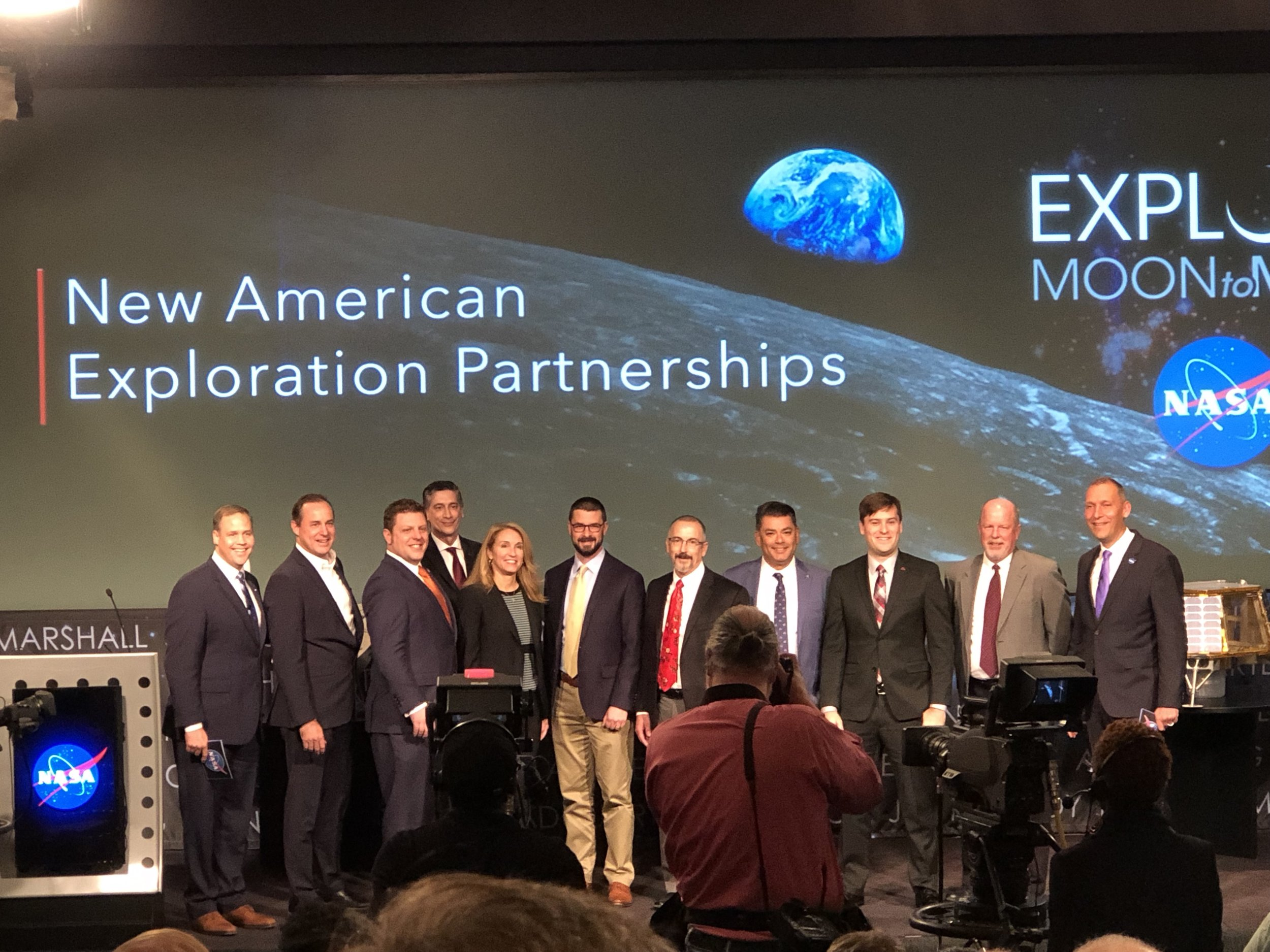NASA Moon Exploration Partners