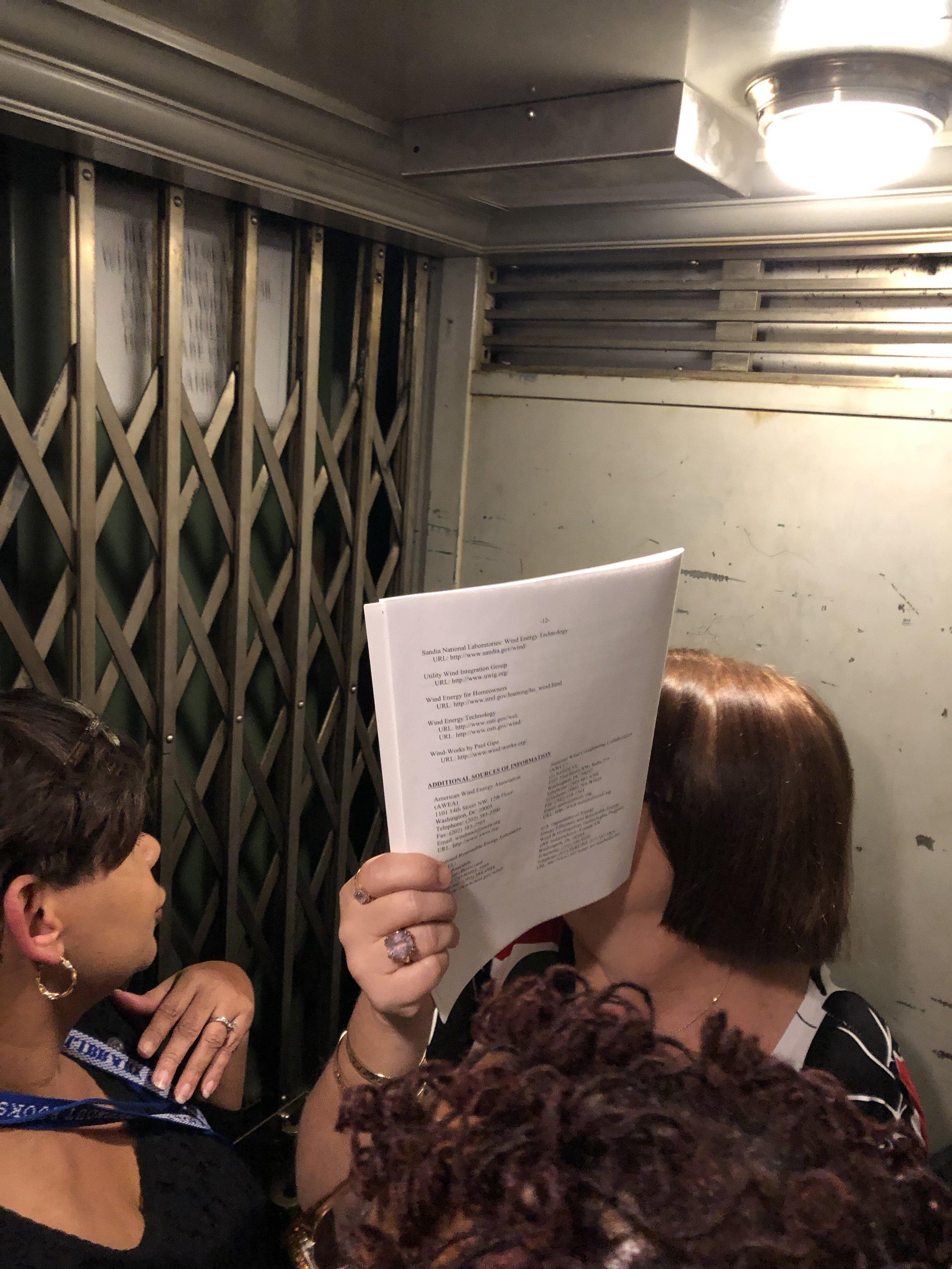 The Claustrophobic Elevator