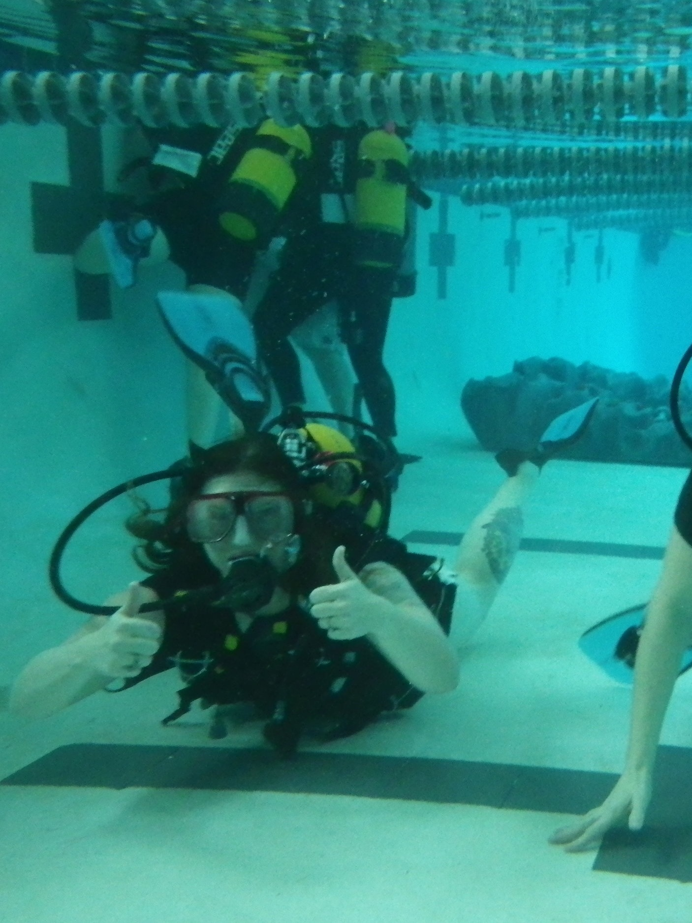 Astronaut Dive Training