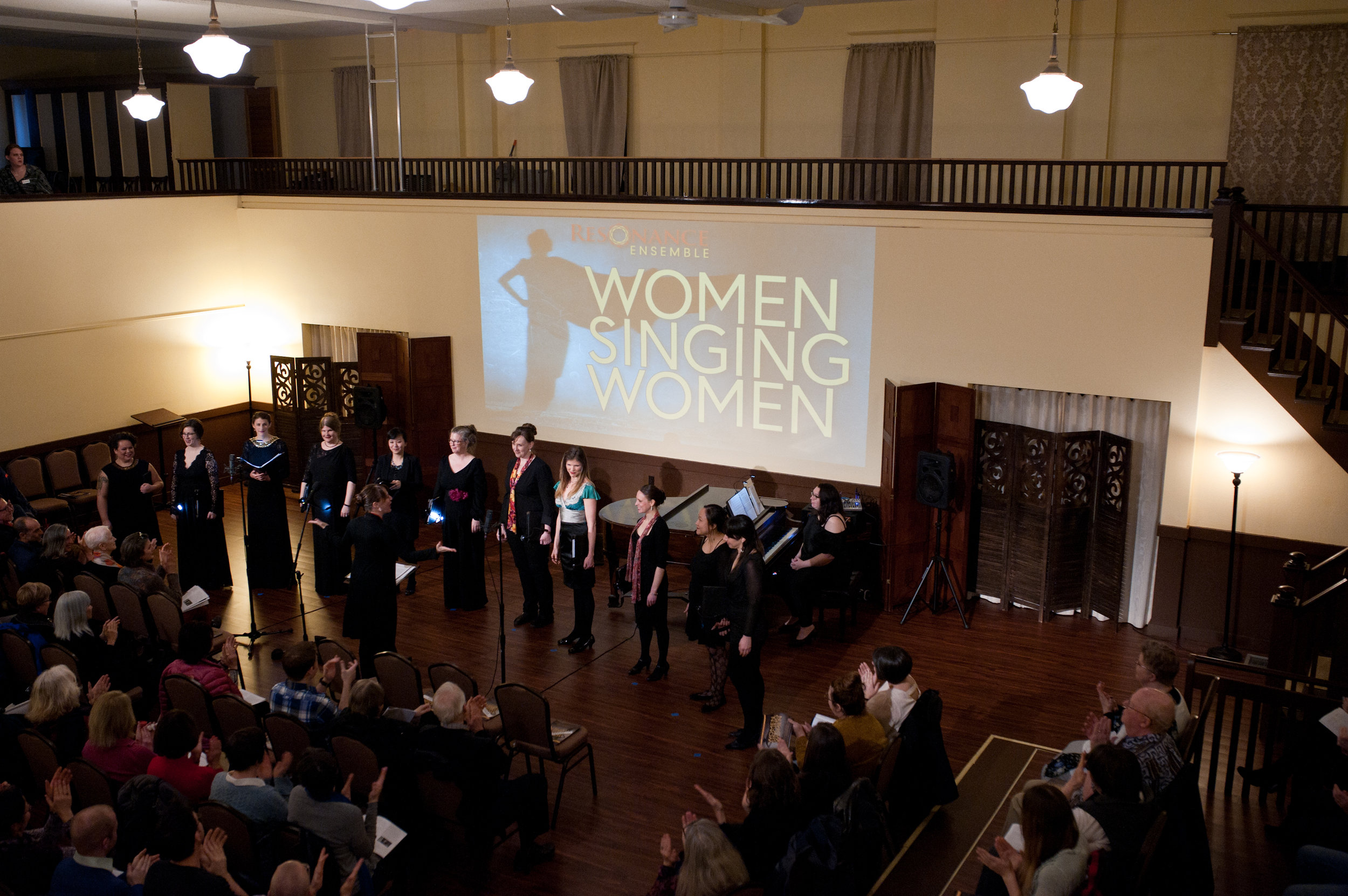 Women Singing Women , February 2019  (Photo Credit: Rachel Hadiashar)