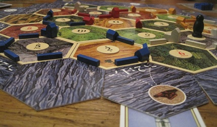 The Settlers of Catan premiered in Germany in 1995, and quickly grew in popularity due to its blend of strategic depth with relatively simple rules.