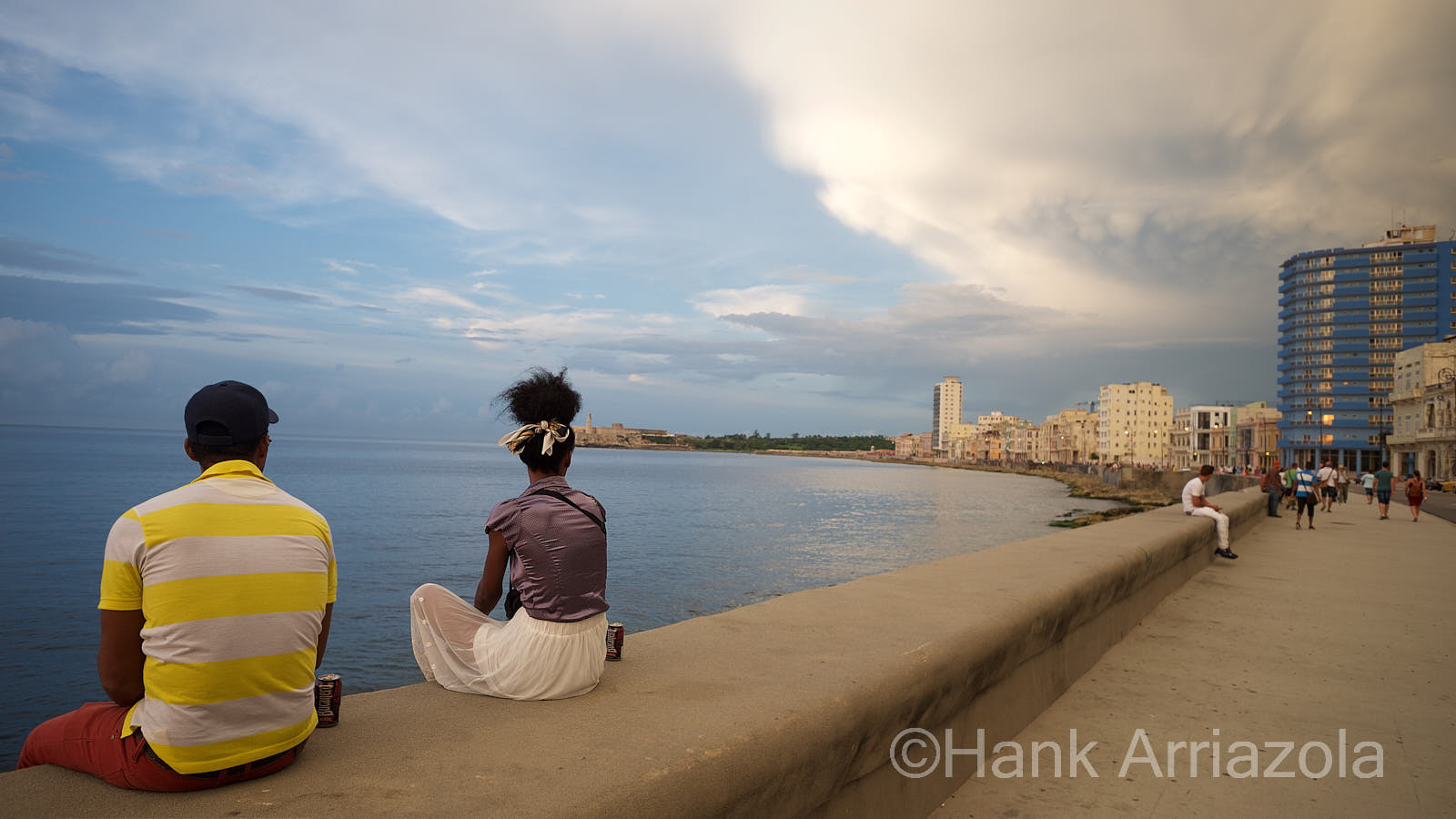 El Malacon - The Sea Wall, the best place to find entertainment in La Habana