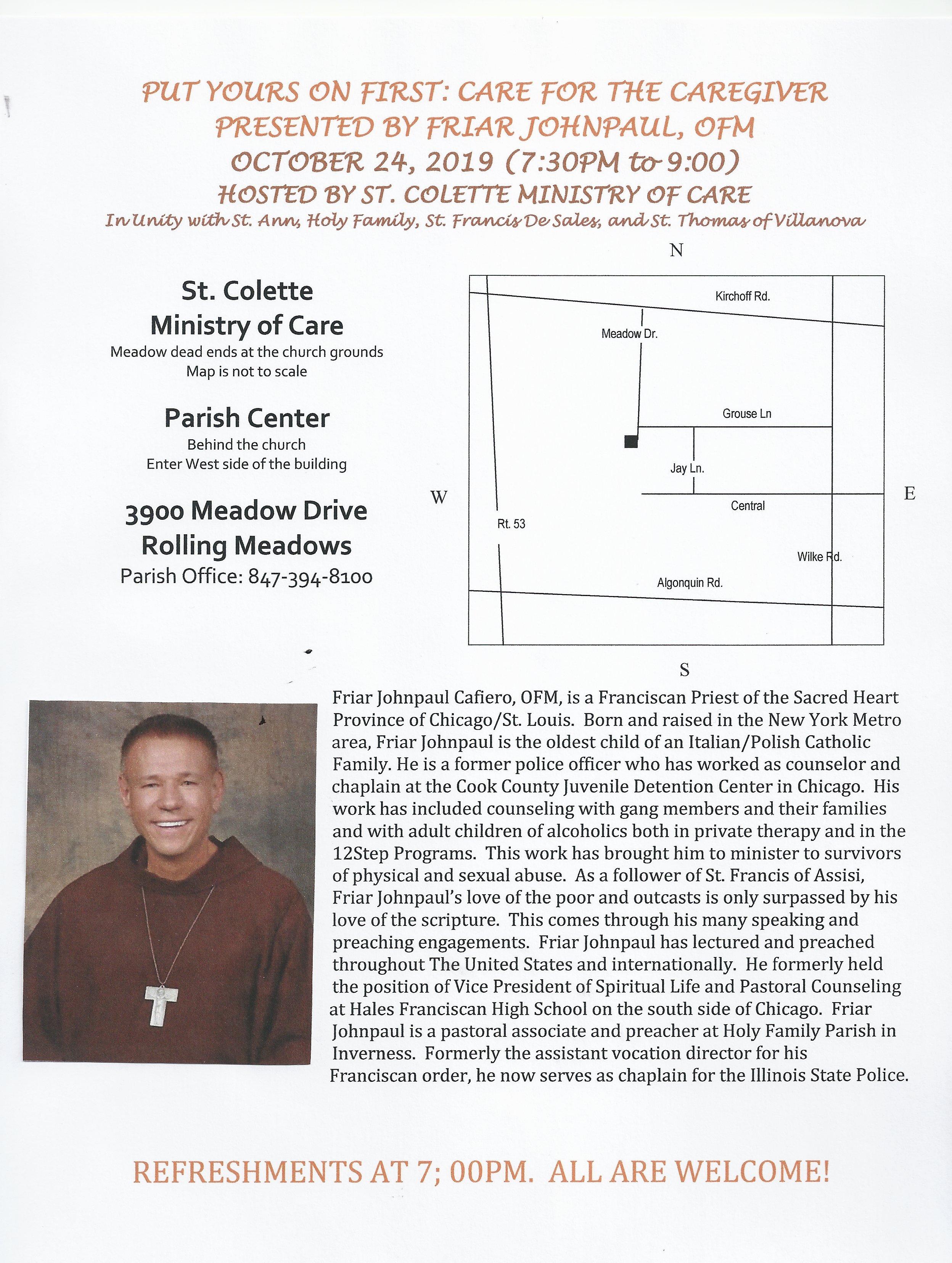 Friar JohnPaul Flyer Oct. 2019.JPG