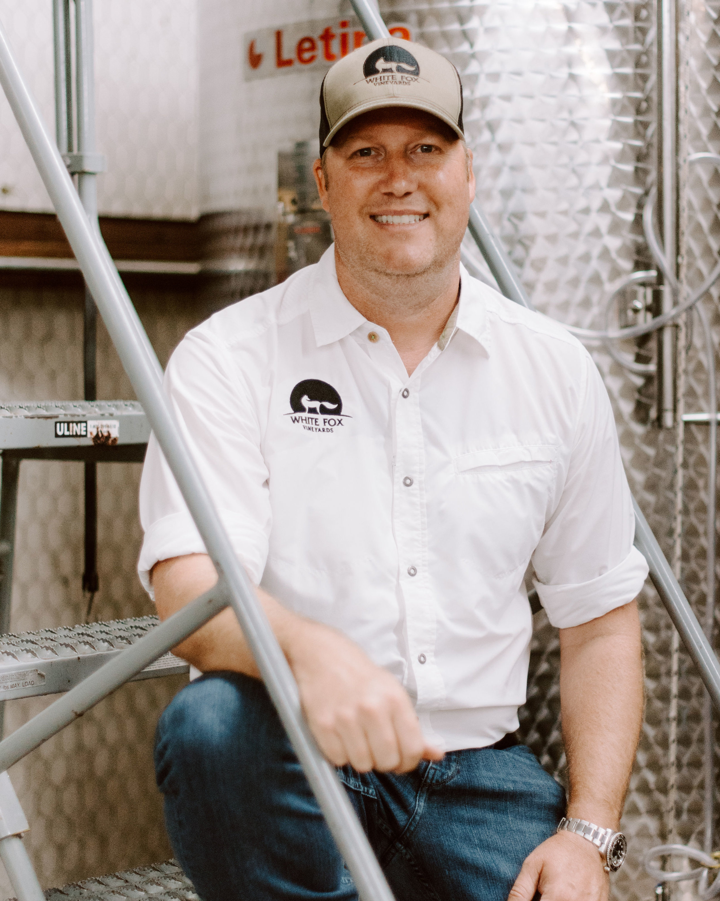 Bryan Fears || Co-Founder - Bryan is an attorney by trade with a passion for wine. He brought the entrepreneurial spirit to White Fox after starting the vineyard with his brother Daniel. When he's not working for his law firm or the vineyard, Bryan volunteers as the development chair for Dallas Summer Musicals and enjoys spending time in the outdoors with his wife and two sons.