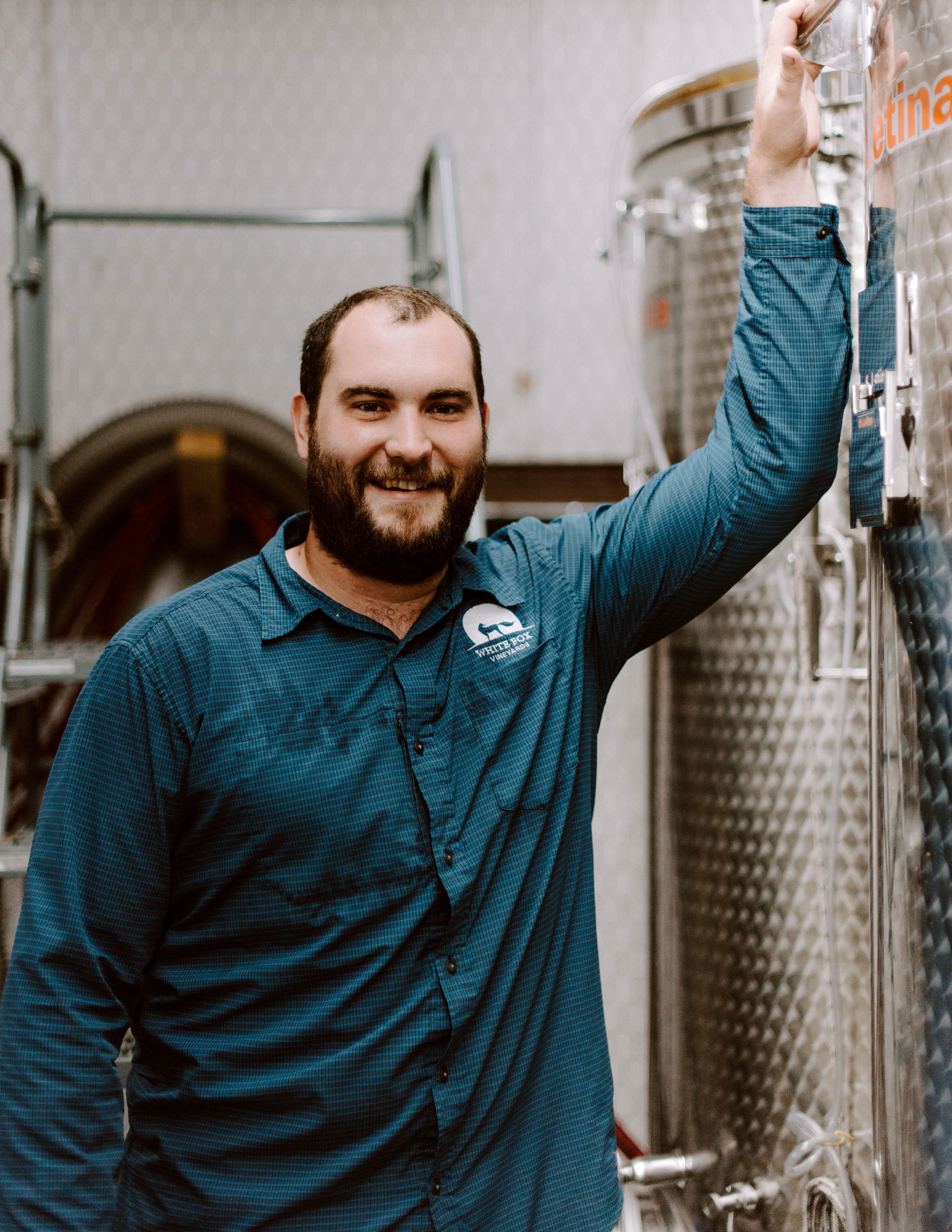 Weston Parsell || Operations Manager - Weston joined the White Fox team during the early stages of the vineyard as a helping hand, and his role has expanded to included festivals, distribution and more. A staunch Texas Tech Red Raiders fan, Weston enjoys traveling with his girlfriend, playing golf and fishing with his brothers.
