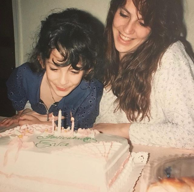 New episode tomorrow enjoy this #tbt photo of me blowing out the candles on my mom's birthday cake 🎂 🍰 🧁