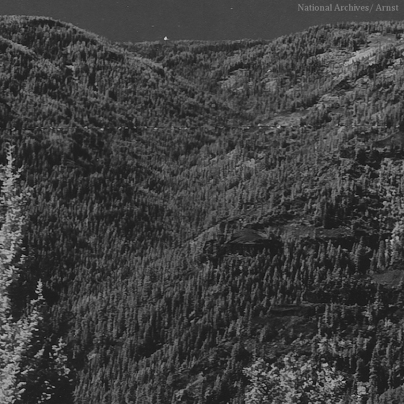 South Fork of North Fork of Asotin Creek in 1935, Albert Arnst
