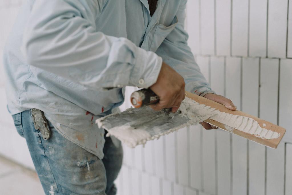 Handmade Brick Accent Wall - OneElevenEast