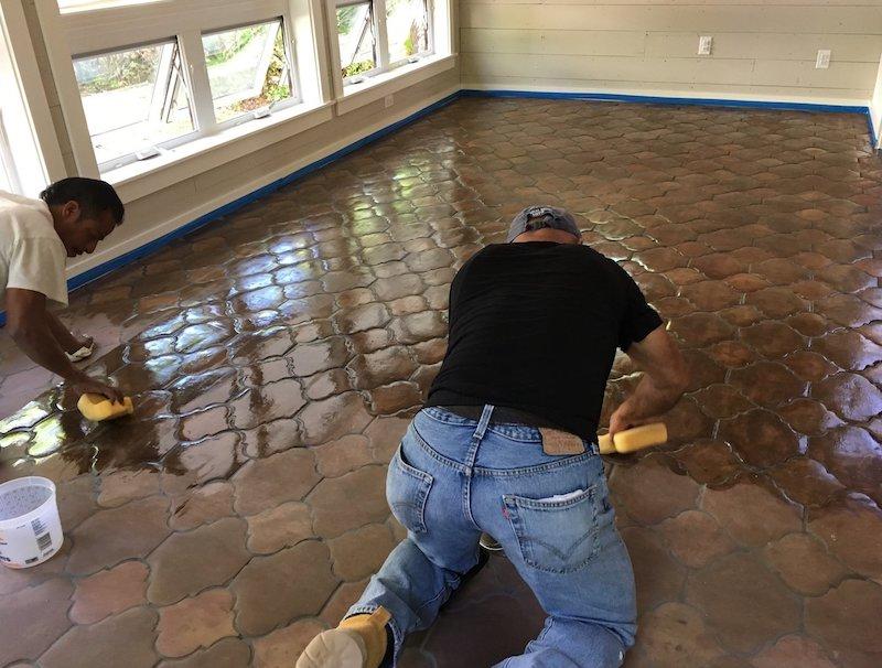 Restoration - bringing life back to old floors.